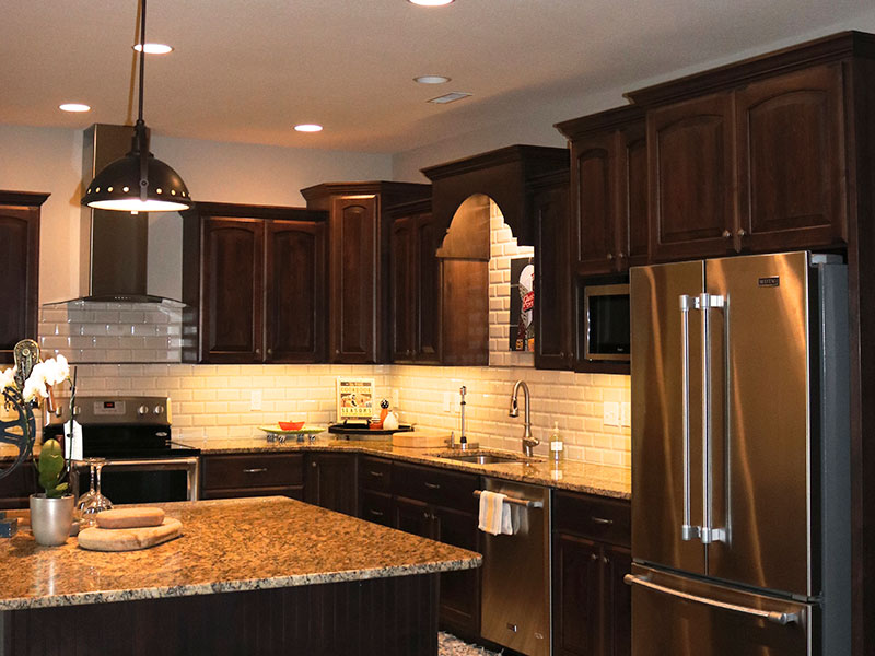 The kitchen is one of the most utilized rooms in a home.