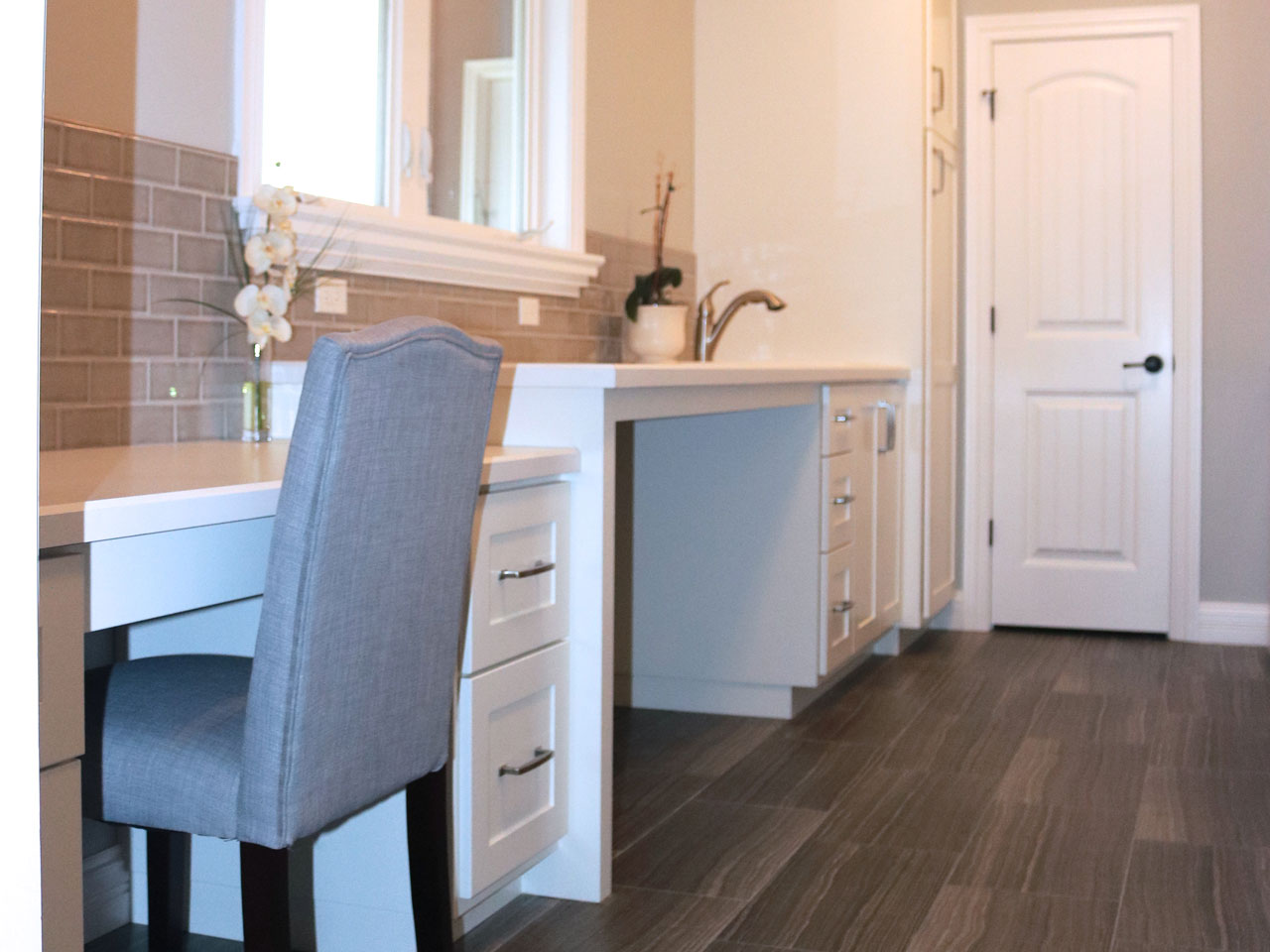 File Construction can remodel a bathroom to fit the design idea of the client.